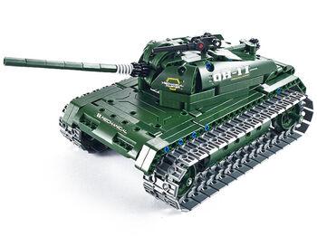 Радиоуправляемый конструктор танк QiHui Technics 4CH 2.4G (453 деталей) - QH8011