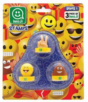 Печати Imoji (3шт в наборе), Серия 1, 17*14*22см, 36 видов