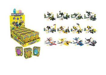 Набор игрушек в яйце Конструктор Сюрприз, 12 видов