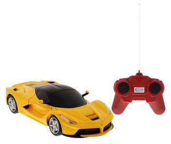 Машина Rastar 48900 Ferrari LaFerrari 1:24, цвет желтый