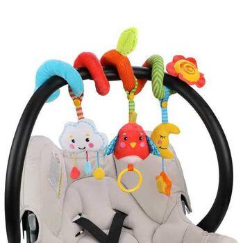 Растяжка с развивающими игрушками съемными Лесная сказка