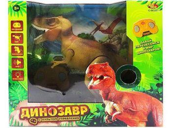 Динозавр на р/у Тираннозавр, световые и звуковые эффекты, 38,8х15,2х34 см