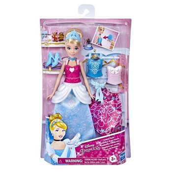 Кукла DISNEY PRINCESS Принцесса Золушка 2 наряда