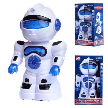 Робот электромеханический, со световыми и звуковыми эффектами, в коробке, 15 x 10.5 x 25 cm