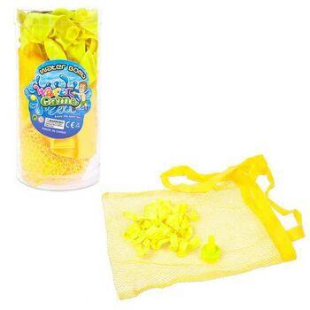 Набор водяных бомбочек в комплекте с воронкой и сетчатым мешочком для переноски, 50 шт, пластиковая туба