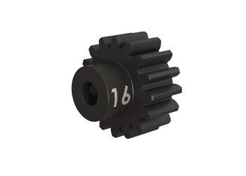 Запчасть Traxxas Gear, 16-T pinion (32-p), heavy duty (machined, hardened steel): set screw