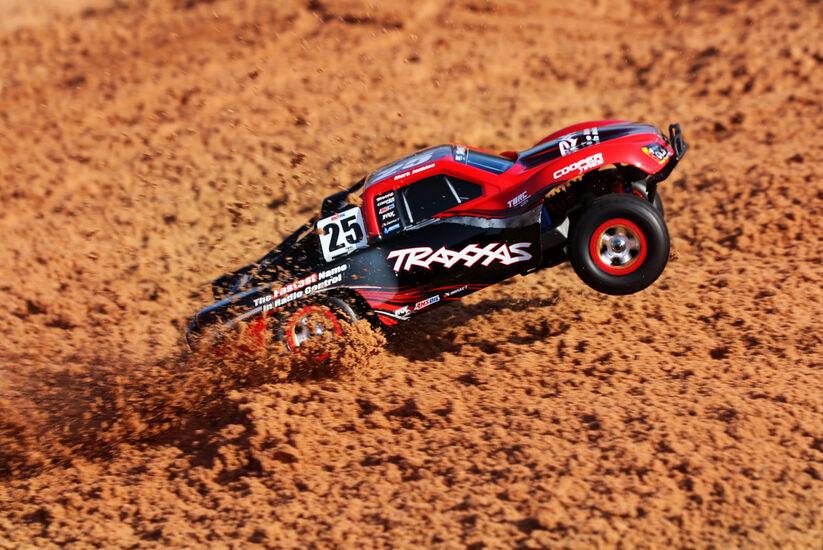 Радиоуправляемая машина Traxxas Slash 1:16 4WD TQ Fast Charger Black