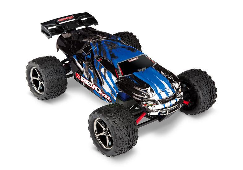 Радиоуправляемая машина Traxxas E-Revo 1:16 4WD VXL TQi Ready to Bluetooth Module Fast Charger TSM Blue