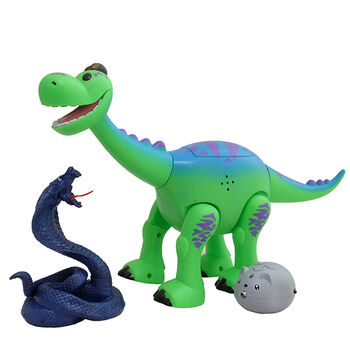 Интерактивная игрушка динозаврик Брахиозавр 29 см - ТТ6009А