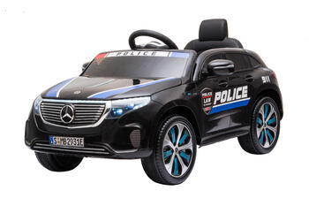 Электромобиль Mercedes Benz Police EQC 400 4MATIC - HL378-BLACK