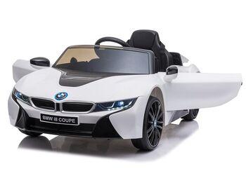 Электромобиль BMW i8 Coupe 12V - JE1001-WHITE