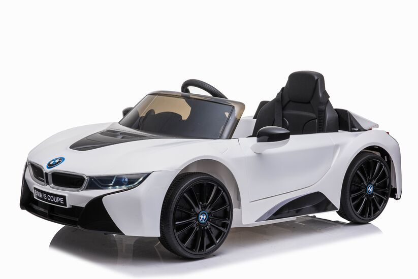 Электромобиль BMW i8 Coupe 12V - JE1001-WHITE