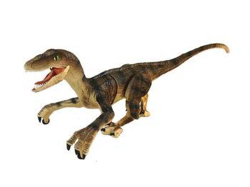 Радиоуправляемый динозавр SUNMIR Велоцираптор (желтый), звук, свет