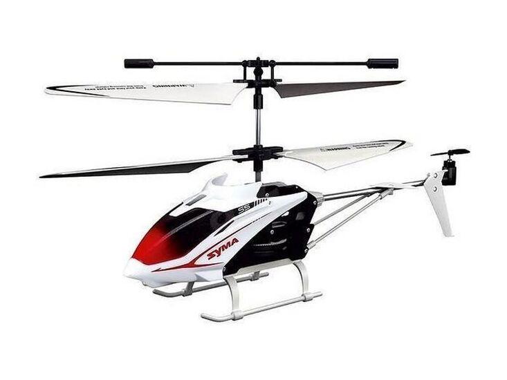 Радиоуправляемый вертолет Syma S5 (белый) IR RTF