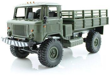 Радиоуправляемая грузовая машина WPL Газ 66 Зеленый 1:16 - WPLB-24R