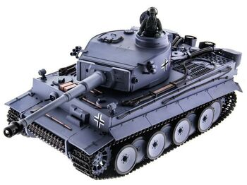 Радиоуправляемый танк Heng Long Tiger I Original Version V6.0  2.4G 1/16 RTR