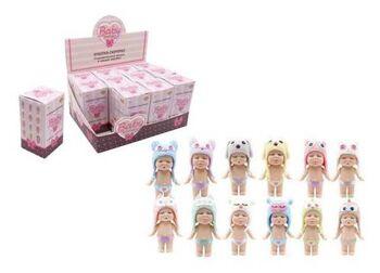 Кукла ABtoys Baby Boutique Пупс-сюрприз в коробочке с аксессуарами, 8 см 12 видов