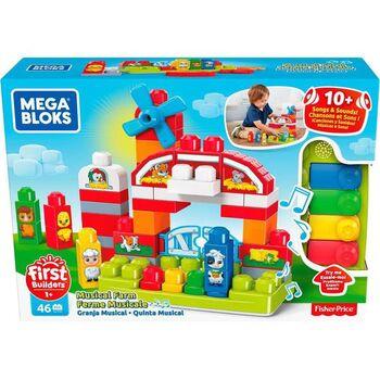 Конструктор Mattel Mega Bloks Fisher-Price Музыкальная Ферма