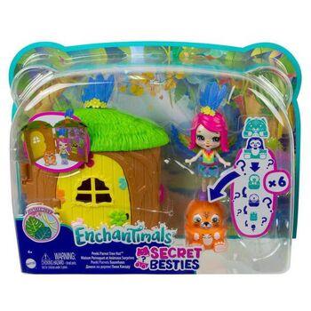 Игровой набор Mattel Enchantimals Домик-сюрприз Пикки Какаду