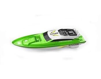 Катер на радиоуправлении NQD Racing Green 757-5005 2.4G 1:14 зеленый 34 см