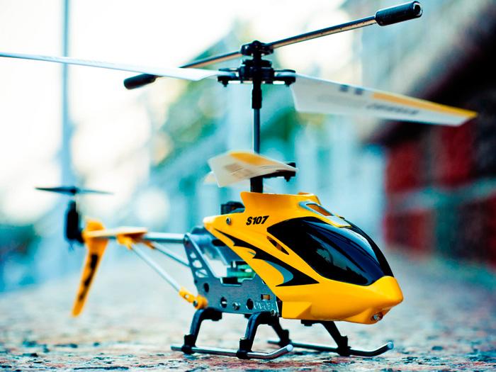 Вертолет на радиоуправлении SYMA S107G Yellow Phantom для начинающих