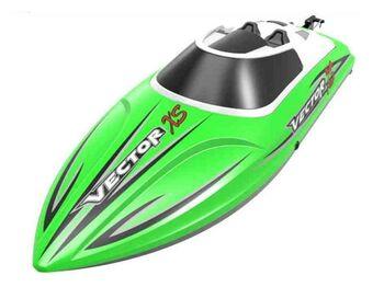 Радиоуправляемый катер Volantex RC Vector XS зеленый 2.4G RTR