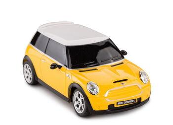 Машина Rastar 15000 MINI 1:24, цвет жёлтый 27MHZ
