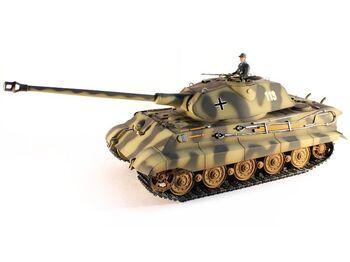 Радиоуправляемый танк Taigen KingTiger HC 1:16 (металл) 2.4G (пневмо)
