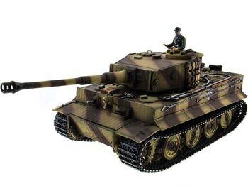 Радиоуправляемый танк Taigen German Tiger 1 1:16 (поздняя версия, металл) 2.4G (пневмо)