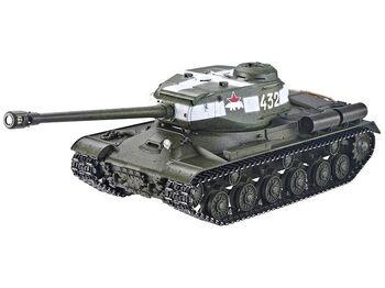 Радиоуправляемый танк Taigen 1/16 ИС-2 модель 1944, СССР, зеленый, 2.4G, деревянная коробка