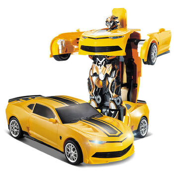 Радиоуправляемый робот трансформер JiaQi Chevrolet Camaro - TT671