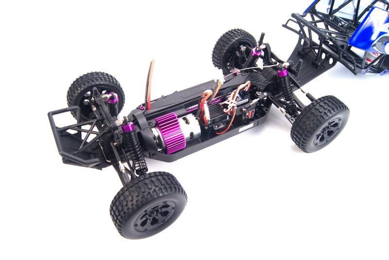Радиоуправляемая модель HSP Off Road Trophy (WaterProof) 1:10 (44 см)