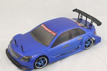Радиоуправляемый автомобиль для дрифта Flying Fish 1, голубой цвет