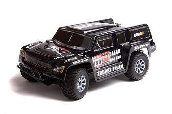 Радиоуправляемый внедорожник HSP 4WD EP Off-Road Trophy Truck 1:18 4WD черный