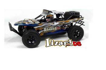Радиоуправляемый внедорожник HSP 4WD EP Trophy Truck (Lizard DB) 1:18 4WD цвет синий