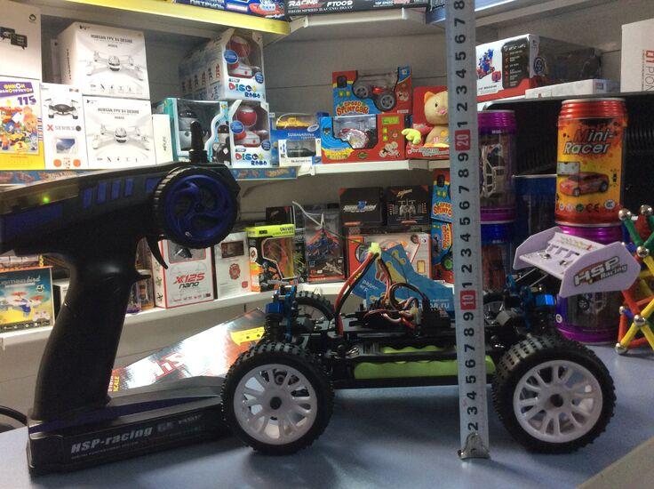 Багги на радиоуправлении HSP Troian Buggy 4WD 2.4G 1:16