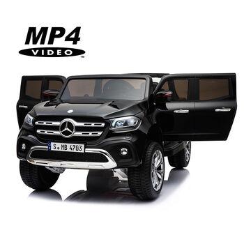 Электромобиль Mercedes-Benz X-Class 4WD MP4 - XMX606-BLACK-PAINT-MP4