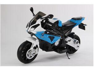 Электромобиль мотоцикл BMW S1000PR на аккумуляторе 12V цвет синий