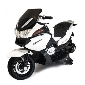 Электромобиль мотоцикл BMW R1200RT Белый 12V