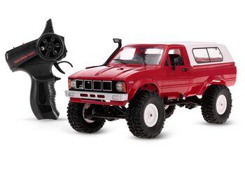 Радиоуправляемый внедорожник красный 1:16 электро - Military Truck Buggy Crawler