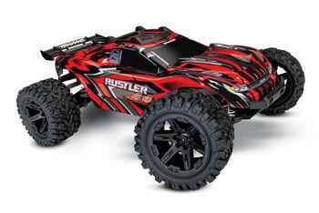 Радиоуправляемая машина Traxxas Rustler 4X4 4WD Red RTR 1/10