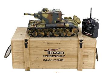Радиоуправляемый танк Torro Russia КВ-2 754 1:16 (инфракрасный) 2.4GHz