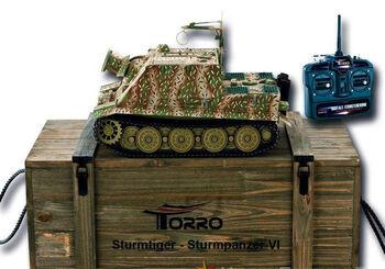 Радиоуправляемый танк Torro Sturmtiger Panzer 1:16 2.4GHz