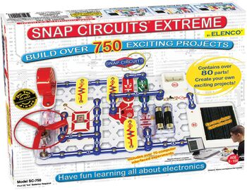 Электронный конструктор Snap Circuits Extreme 750 опытов