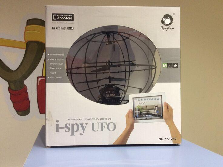 Летающий шар HappyCow Robotic UFO 777-289 (Управление через iPhone + Транслирующая камера)