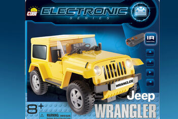 Конструктор COBI Jeep Wrangler Yellow Bluetooth