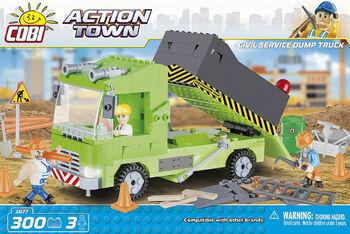 Пластиковый конструктор COBI Civil Service Dump Truck