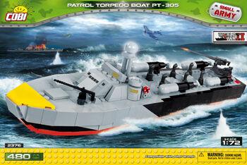 Пластиковый конструктор COBI Patrol Torpedo Boat PT-305