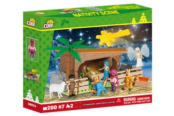 Пластиковый конструктор COBI Nativity Scene