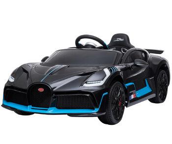 Электромобиль Bugatti Divo 12V - BLACK - HL338